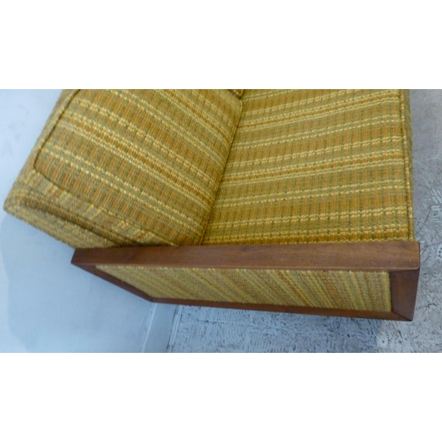Mid-Century Modern Walnut Couch - Image 3 of 8