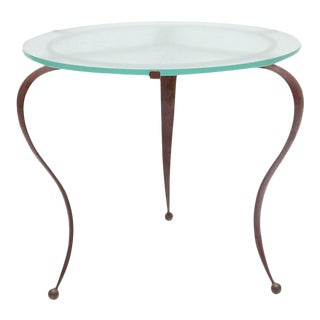 Occasional Table by Drouet For Sale