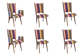 Image of Red Dining Chairs