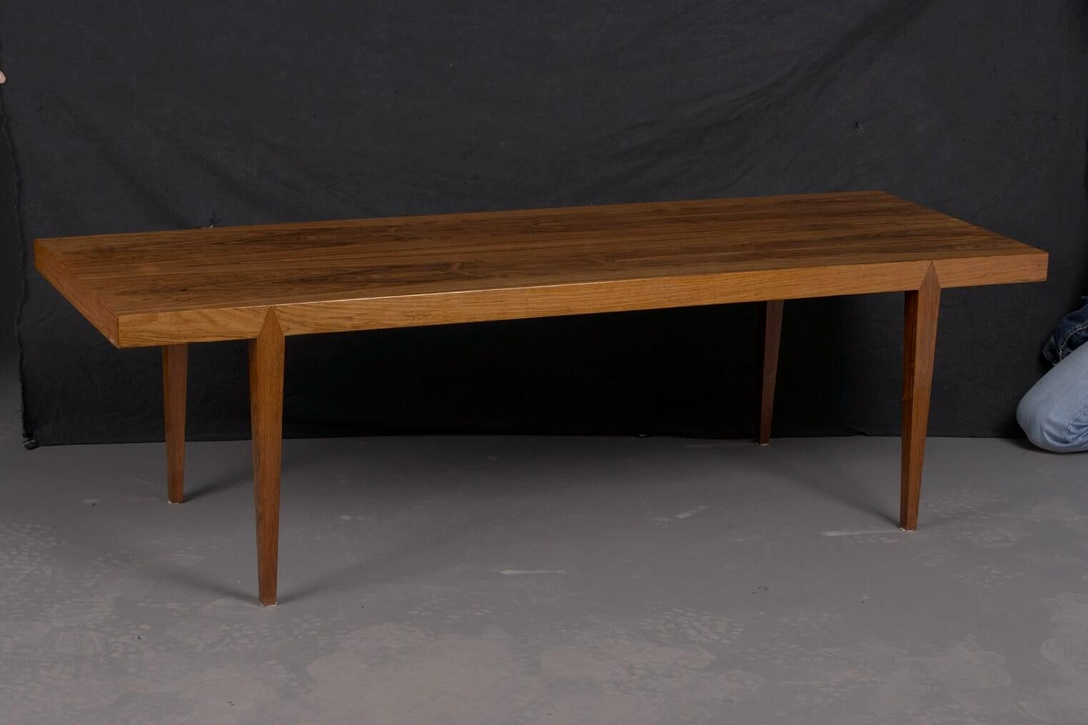 Mid Century Danish Rosewood Coffee Table By Severin Hansen, 1960   Image 2  Of