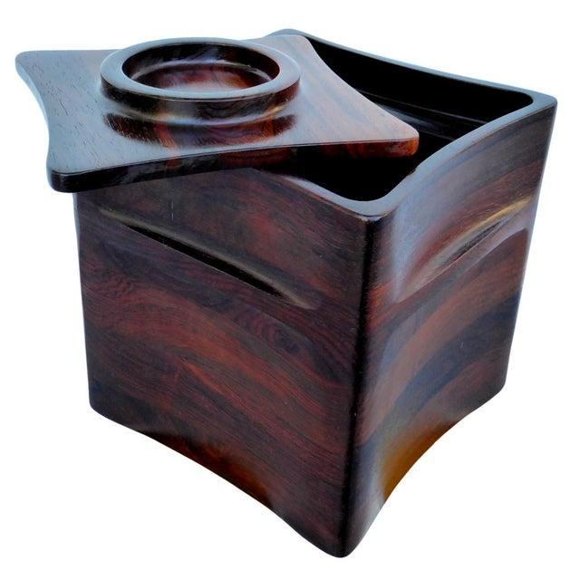 Dansk Rosewood Ice Bucket by Jens Quistgaard for Dansk For Sale - Image 4 of 7