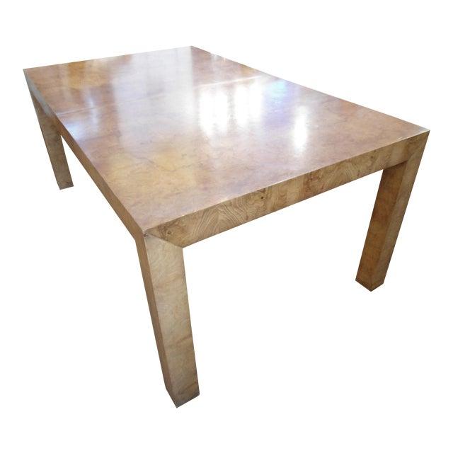Milo Baughman Parson Dining Table - Image 1 of 9