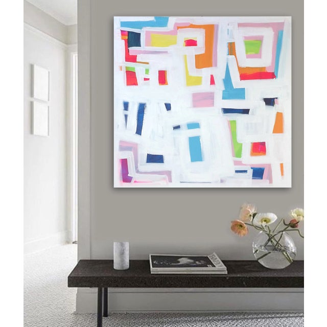 'P-TOWN FUNK' Original Abstract Painting - Image 2 of 8