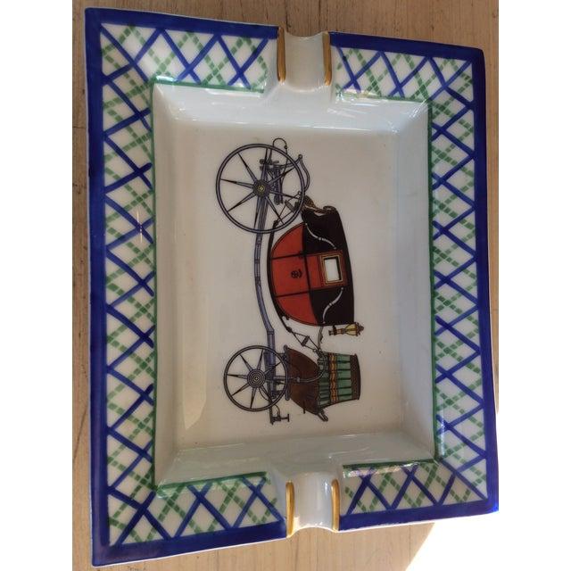 Hermes Old Fashioned Buggy Ashtray - Image 2 of 3