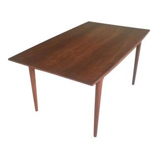 Danish Alfred Christensen Expandable Teak Dining Table by Slagelse Mobler For Sale