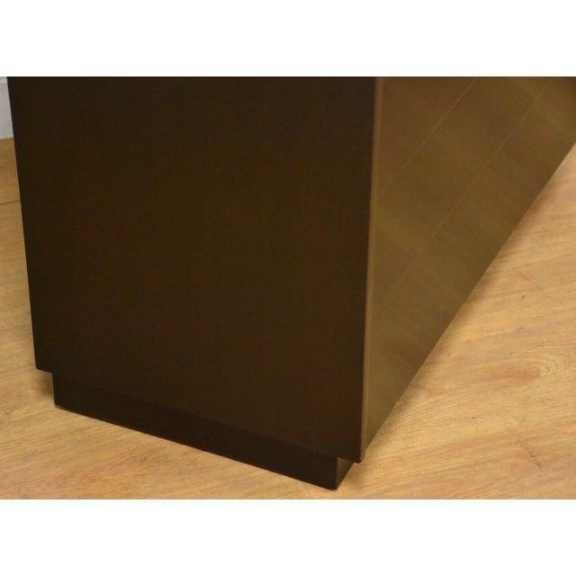 Edward Wormley for Dunbar Ebonized Dresser For Sale - Image 9 of 11