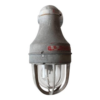 Explosion Proof Industrial Wall Sconce, 1930s