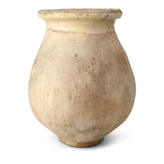 Yellow Small Biot Jar For Sale - Image 8 of 11