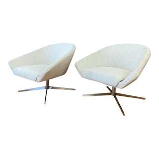 Remy Lounge Chairs by Jeffrey Bernett for Bernhardt Design - a Pair For Sale