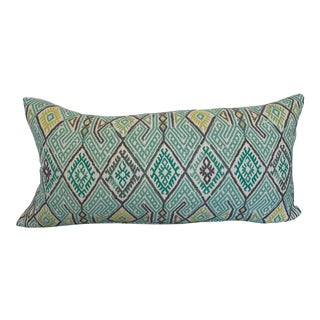 Embroidered Native Kilim Pillow Cover For Sale