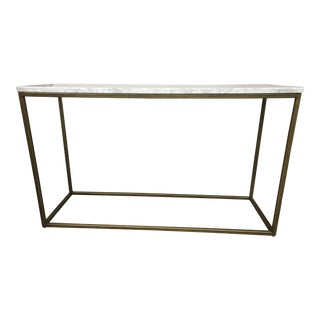 Carrara Console Table For Sale
