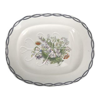 Meigh Very Large Turkey Platter, Circa 1851-1861 For Sale