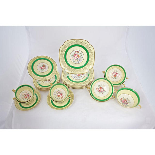 1930s China Set, 27 Pcs. For Sale - Image 9 of 9