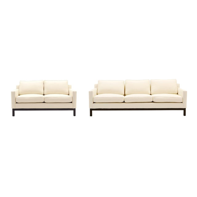 Edward Wormley for Dunbar Sofa and Loveseat Combination - Image 1 of 10