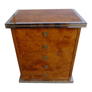 A fine Willy Rizzo chest of drawers
