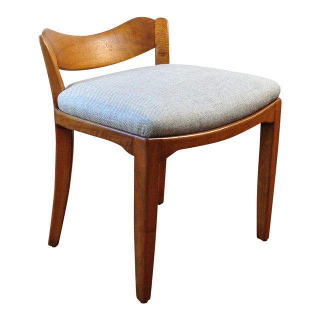 Low Back Stool, Switzerland Circa 1940 For Sale