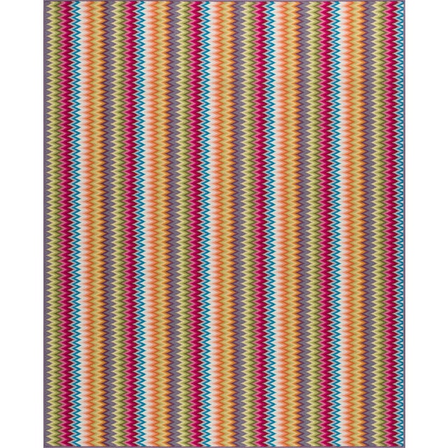 """Made of 100% wool. Pattern repeat is 1.75""""L x 1'6""""W."""