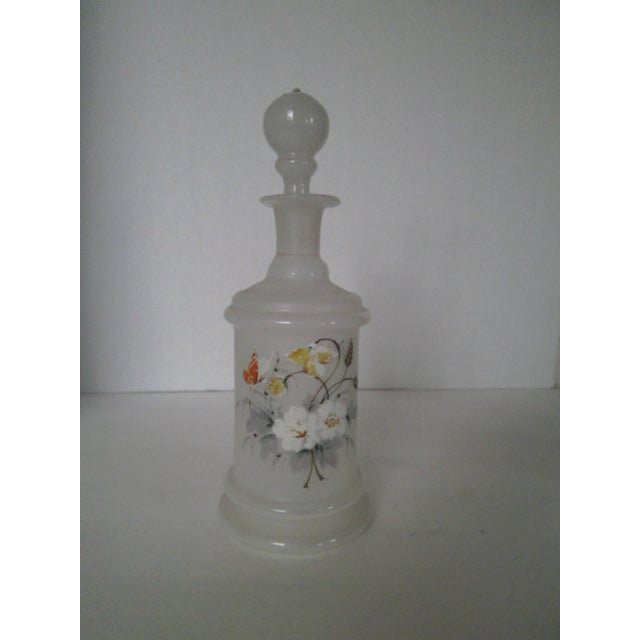 Antique Bristol Glass Decanter - Image 6 of 8