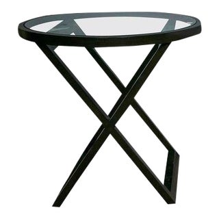 Black Mercer Street Lacquered Table