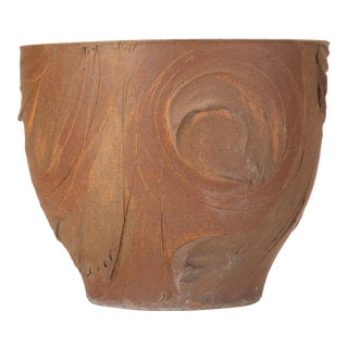 "Unglazed Pro/Artisan ""Solar"" Planter by David Cressey For Sale"