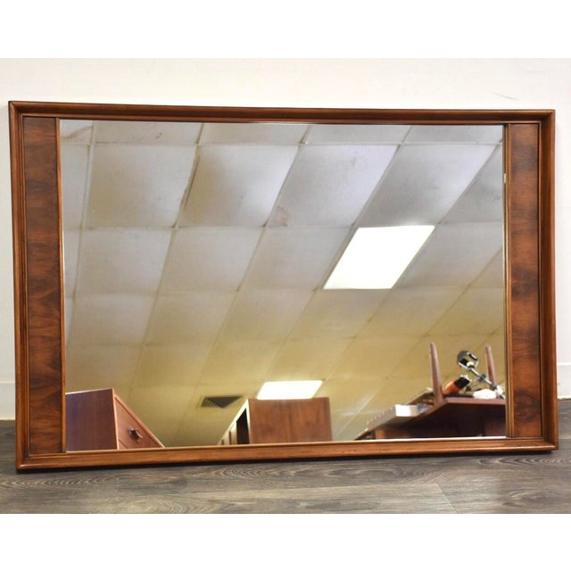 Wood Kent Coffey Perspecta Mid Century Mirror For Sale - Image 7 of 7