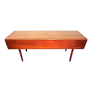 Henkel Harris Black Cherry Drop Leaf Dining Table For Sale