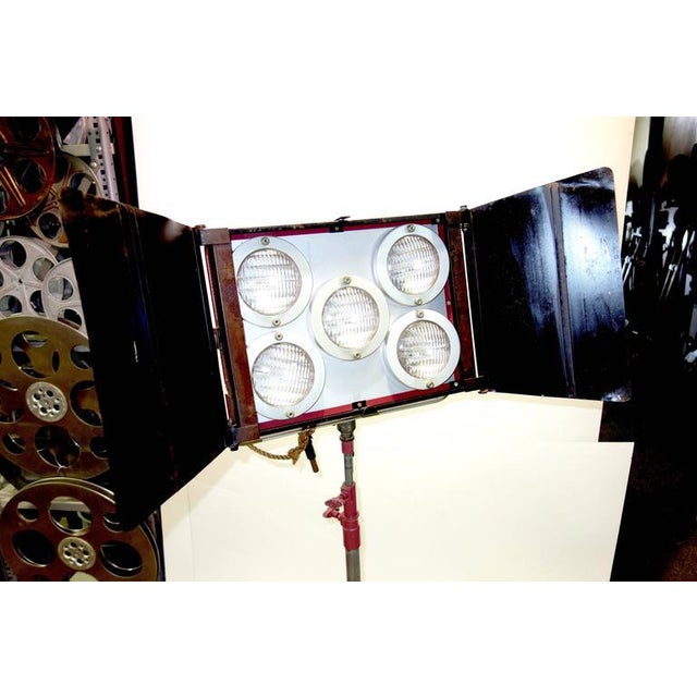 1950s Circa Mid-Century Hollywood Studio Molefay 5-Light Lamp on Stand As Sculpture For Sale - Image 5 of 7