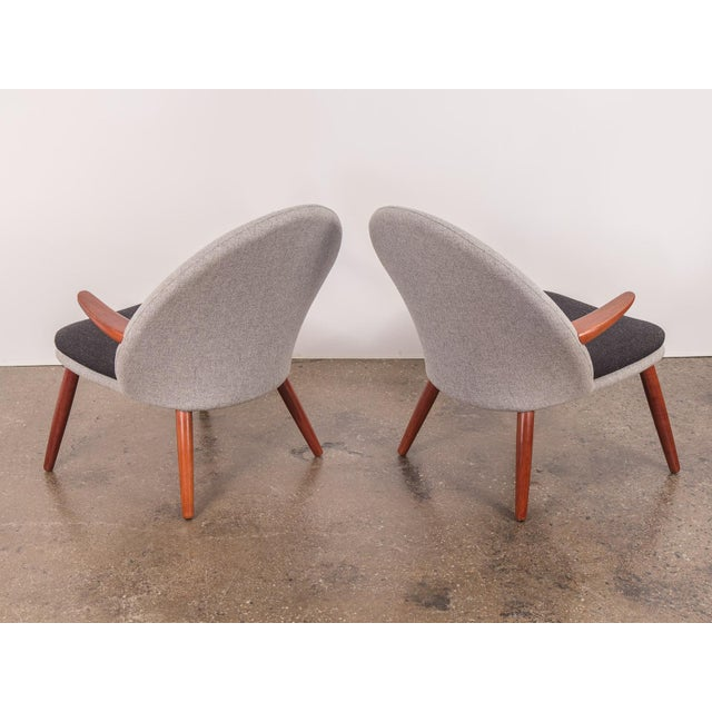 Kurt Olsen Easy Chairs - a Pair For Sale In New York - Image 6 of 11