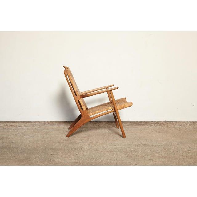 Hans Wegner Hans Wegner Ch-27 Chair, Carl Hansen & Son, Denmark, 1950s For Sale - Image 4 of 11