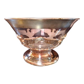 Dorothy Thorpe Punch Bowl For Sale