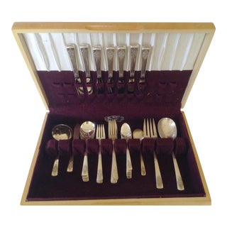 International Silver Flatware - 49 pieces For Sale