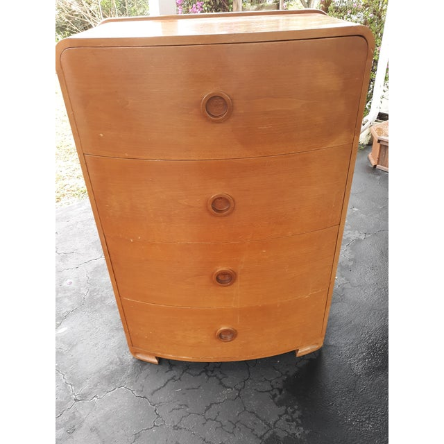 This is a pair of art deco,streamline modern, dressers that seem to be prototypes for the 1939 Worlds Fair in NYC. They...