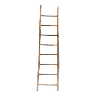 19th Century French Provincial Wood Ladder For Sale