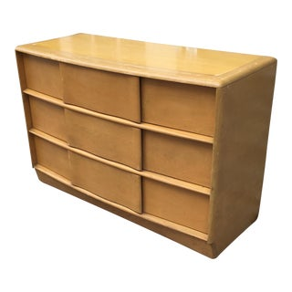 Heywood Wakefield Sculptura Dresser on Wheels