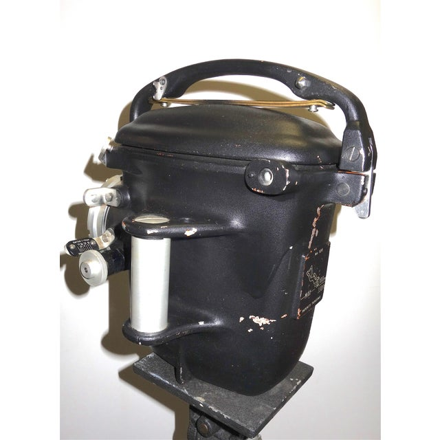 Bolex Underwater Cinema Camera Housing With Tripod, Vintage, Classic, Sculpture For Sale - Image 4 of 13
