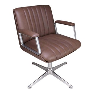 Mid-Century Osvaldo Borsani Office Chair, 1960's For Sale