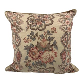 Elizabeth Eakins Floral Pillow For Sale