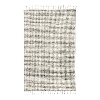 Jaipur Living Perkins Handmade Dot Ivory/ Black Area Rug - 9′ × 13′ For Sale