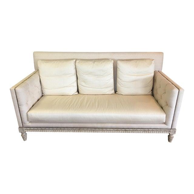 William Switzer Ivory Sofa - Image 1 of 9