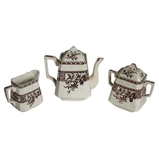Wallis Gimson & Co Garfield Tea Set