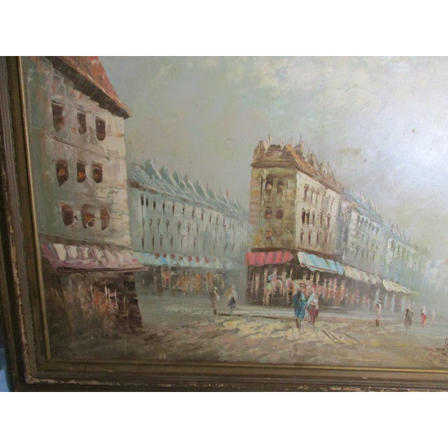 French Neo Impressionist Antoine Blanchard Oil on Canvas - Image 4 of 11