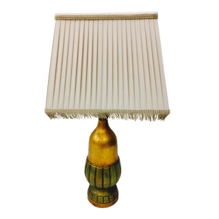 Vintage Gold Tone Table Lamp