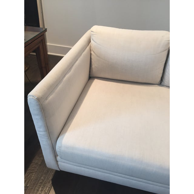 Baker Furniture Mid-Century Off-White Couch - Image 6 of 9
