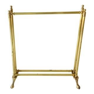 Brass Quit Stand 16x35x31w Good For Sale