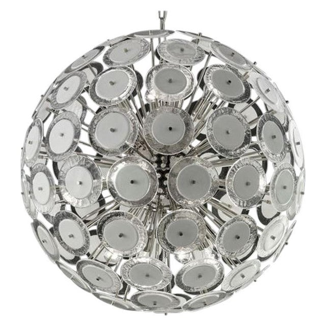 Disc Chandelier by Fabio Ltd For Sale In Palm Springs - Image 6 of 6
