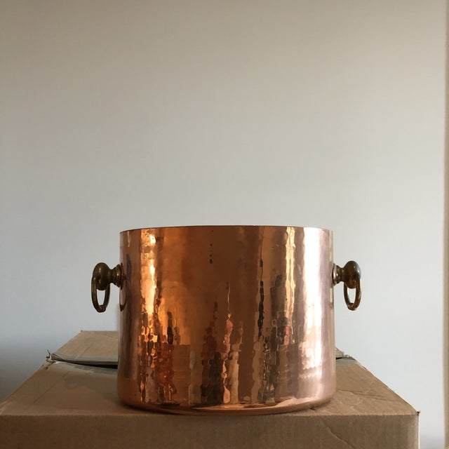 Copper Ice Bucket With Slots for 2 Bottles - Image 6 of 6