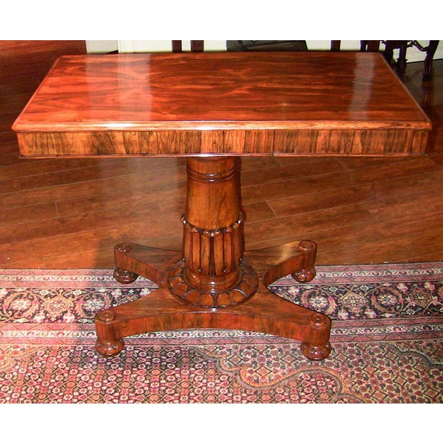 19th Century British William IV Telescopic Side Table in the Manner of Gillow's For Sale - Image 12 of 12