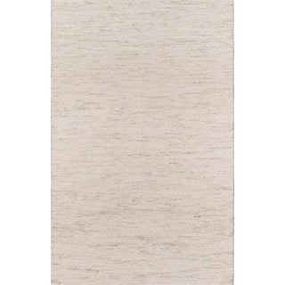 "Erin Gates Dartmouth Bartlett Beige Hand Made Wool Area Rug 3'9"" X 5'9"" For Sale"