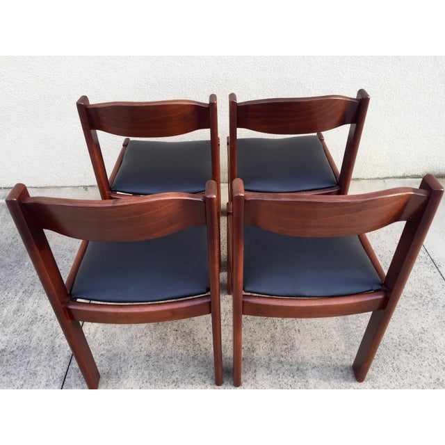 Restored Mid-Century Modern Dining Chairs - 4 - Image 4 of 8