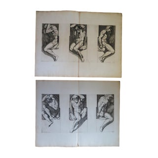 17th Century Engravings by Carlo Cesio - a Pair For Sale